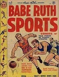 Babe Ruth Sports Comics
