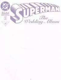 Superman: The Wedding Album