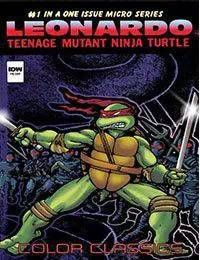 Teenage Mutant Ninja Turtles Color Classics: Leonardo Micro-Series