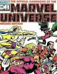 The Official Handbook of the Marvel Universe Deluxe Edition