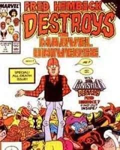 Fred Hembeck Destroys the Marvel Universe