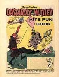 Dastardly and Muttley Kite Fun Book