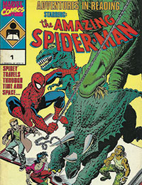 Adventures in Reading Starring the Amazing Spider-Man