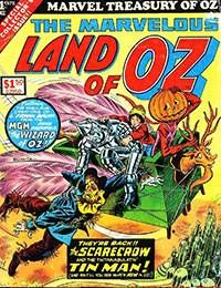Marvel Treasury of Oz featuring the Marvelous Land of Oz