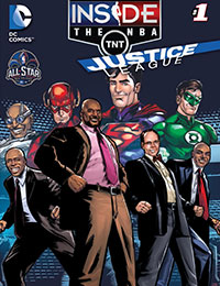The Justice League Goes Inside the NBA-All Star Edition