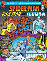 Spider-Man, Fire-Star and Iceman at the Dallas Ballet Nutcracker