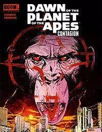 Dawn of the Planet of the Apes:Contagion