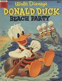 Donald Duck Beach Party