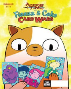 Adventure Time Fionna and Cake Card Wars