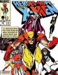Heroes for Hope Starring the X-Men