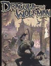 Frank Frazettas Dracula Meets the Wolfman