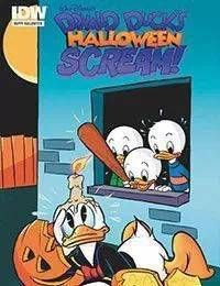 Donald Ducks Halloween Scream!