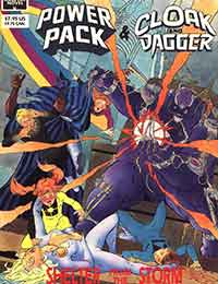 Read Marvel Graphic Novel: Cloak and Dagger and Power Pack: Shelter From The Storm online