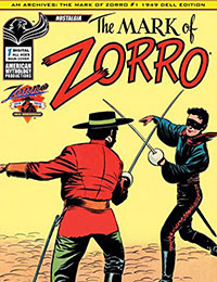Read AM Archives: The Mark of Zorro #1 1949 Dell Edition online