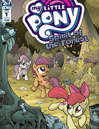 Read My Little Pony: Spirit of the Forest online